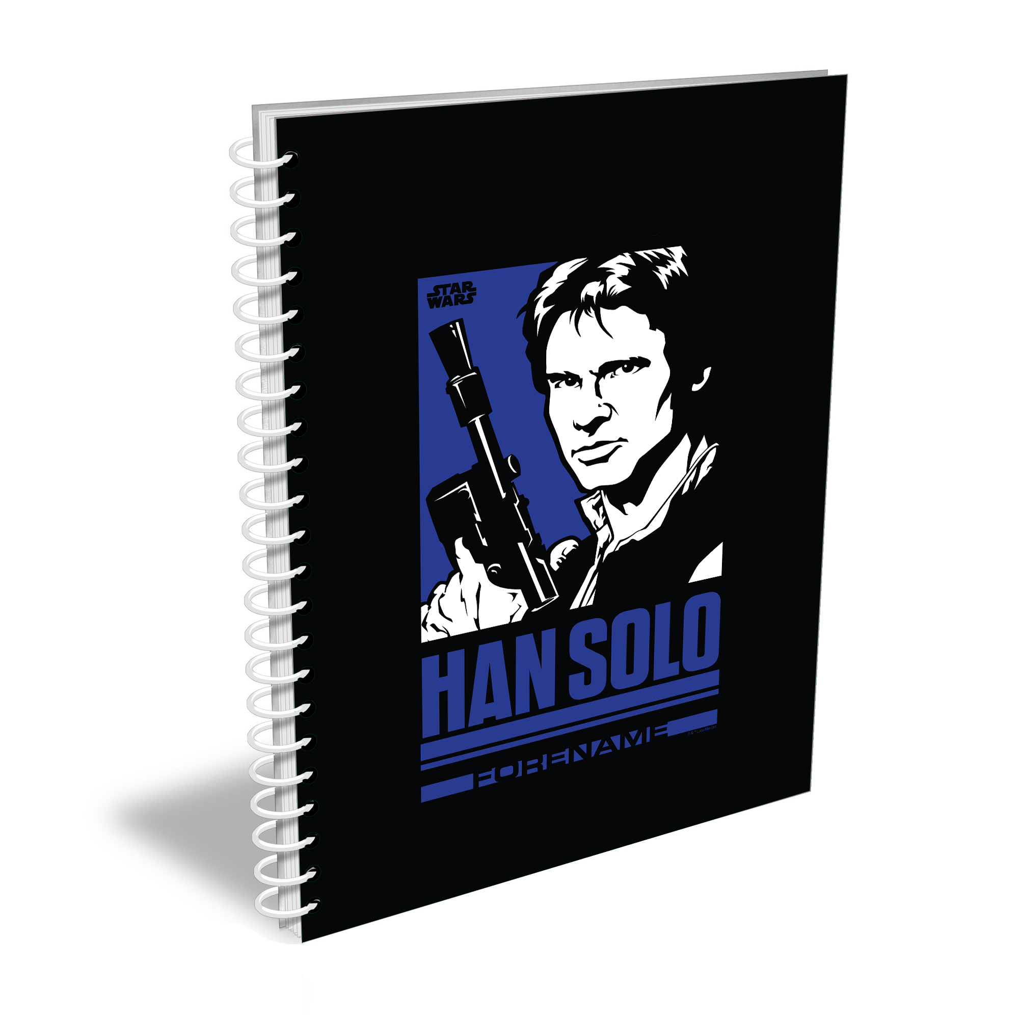 Star Wars Han Solo Pop Art A5 Notebook