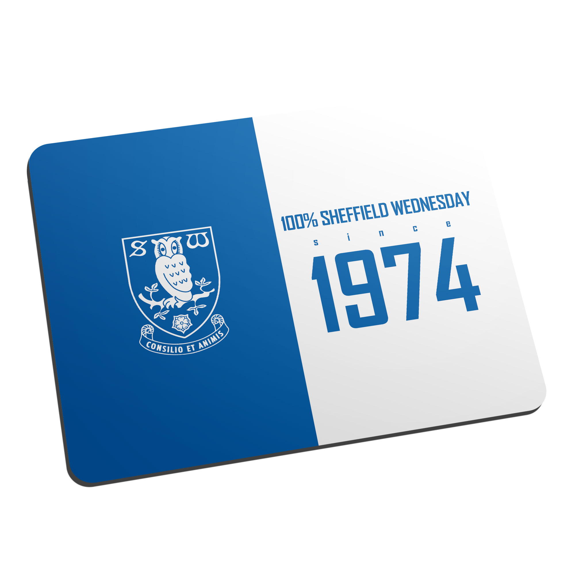 Sheffield Wednesday FC 100 Percent Mouse Mat