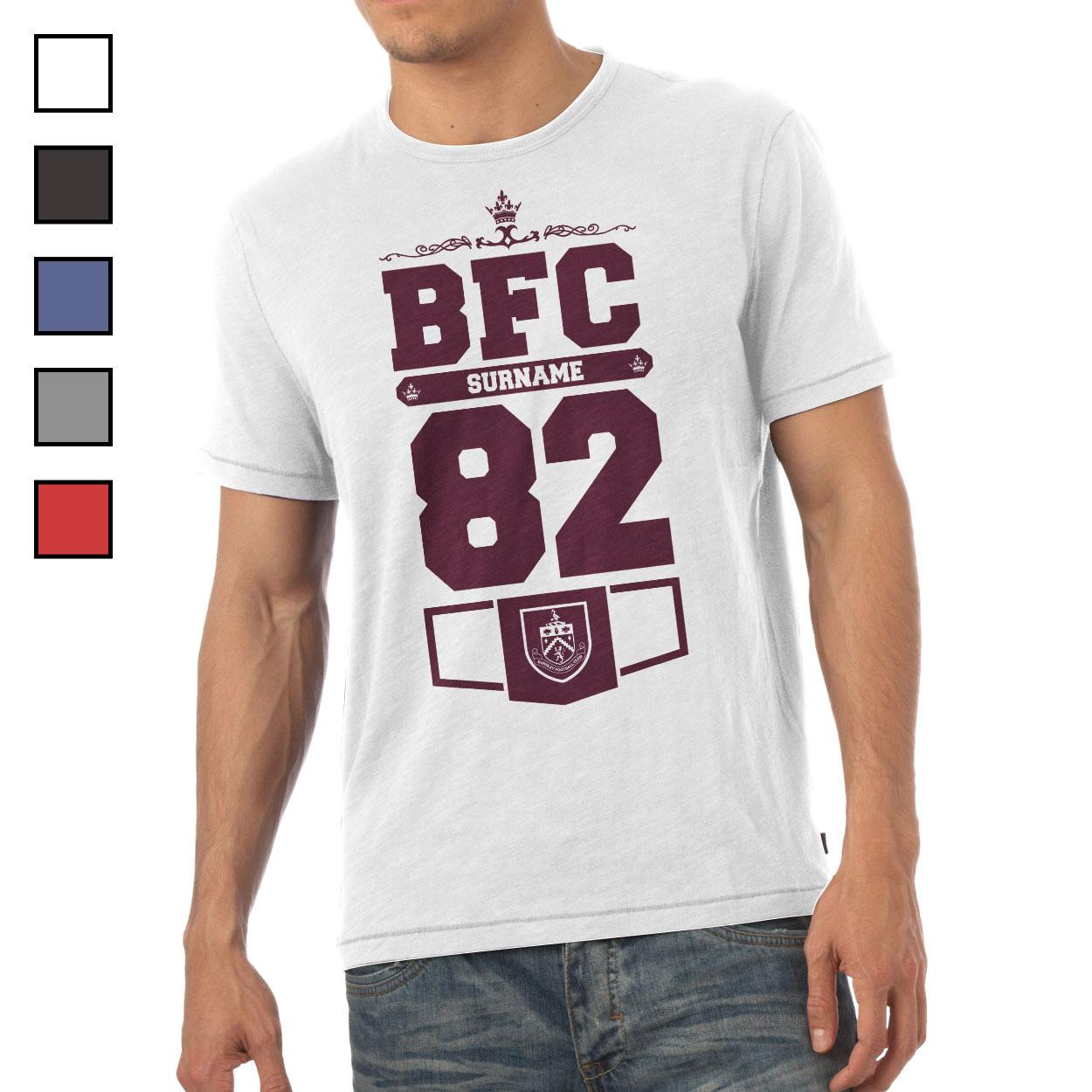 Burnley FC Mens Club T-Shirt