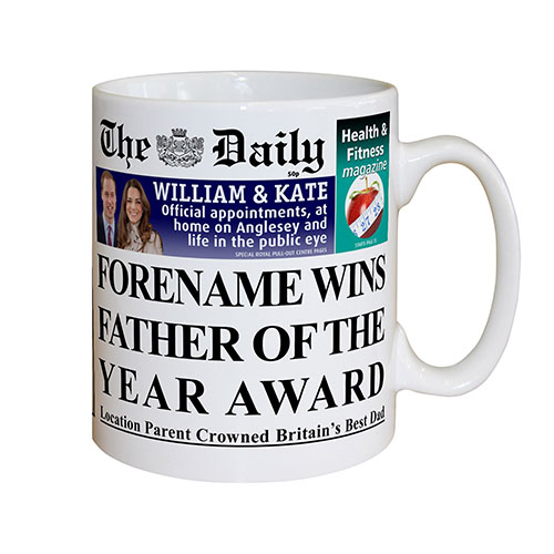 The Daily Father Of The Year Mug