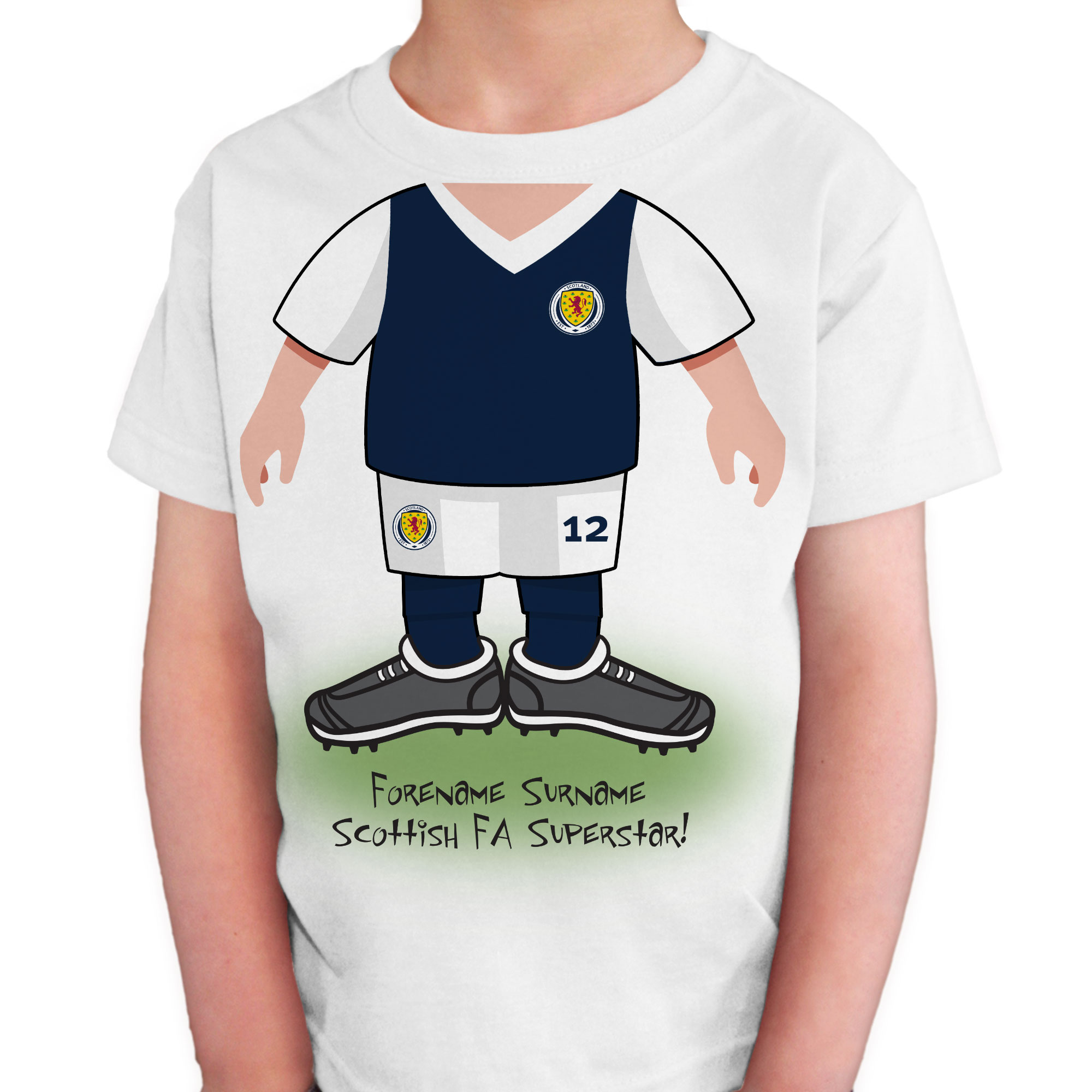 Scotland Kids Use Your Head T-Shirt