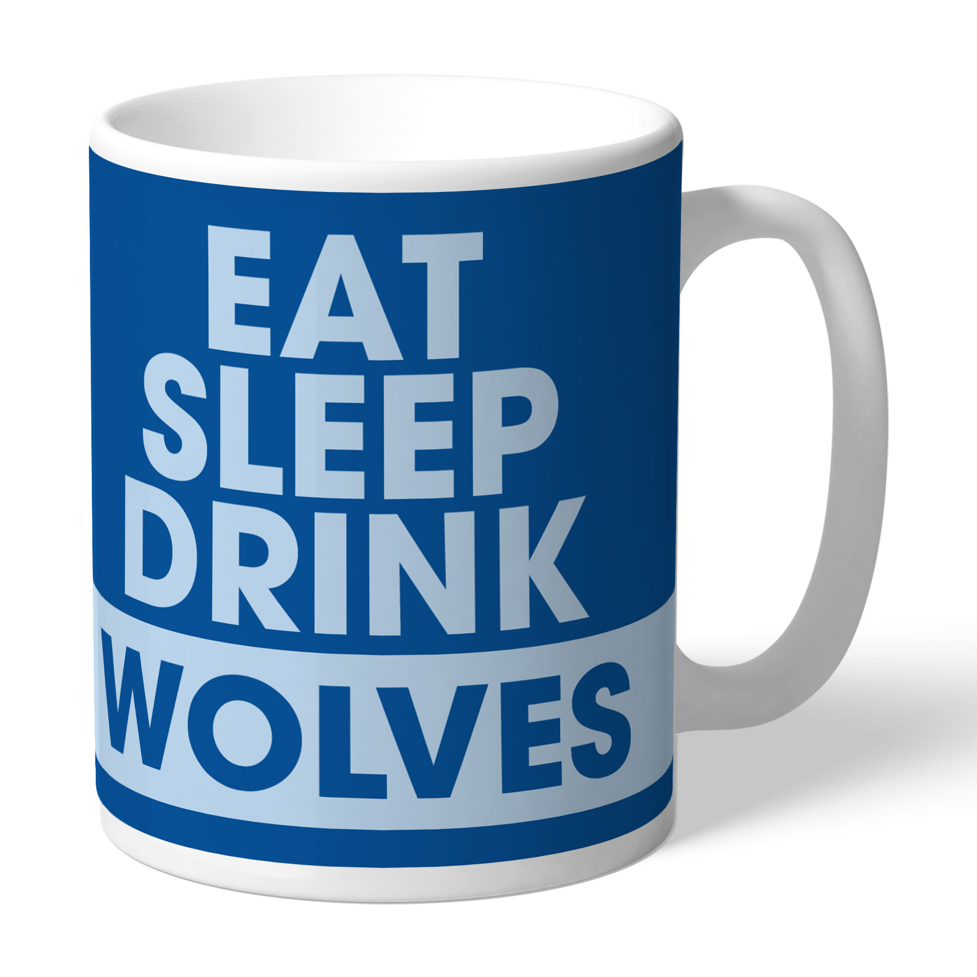 Warrington Wolves Eat Sleep Drink Mug