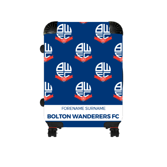 Bolton Wanderers FC Mini Crest Cabin Suitcase