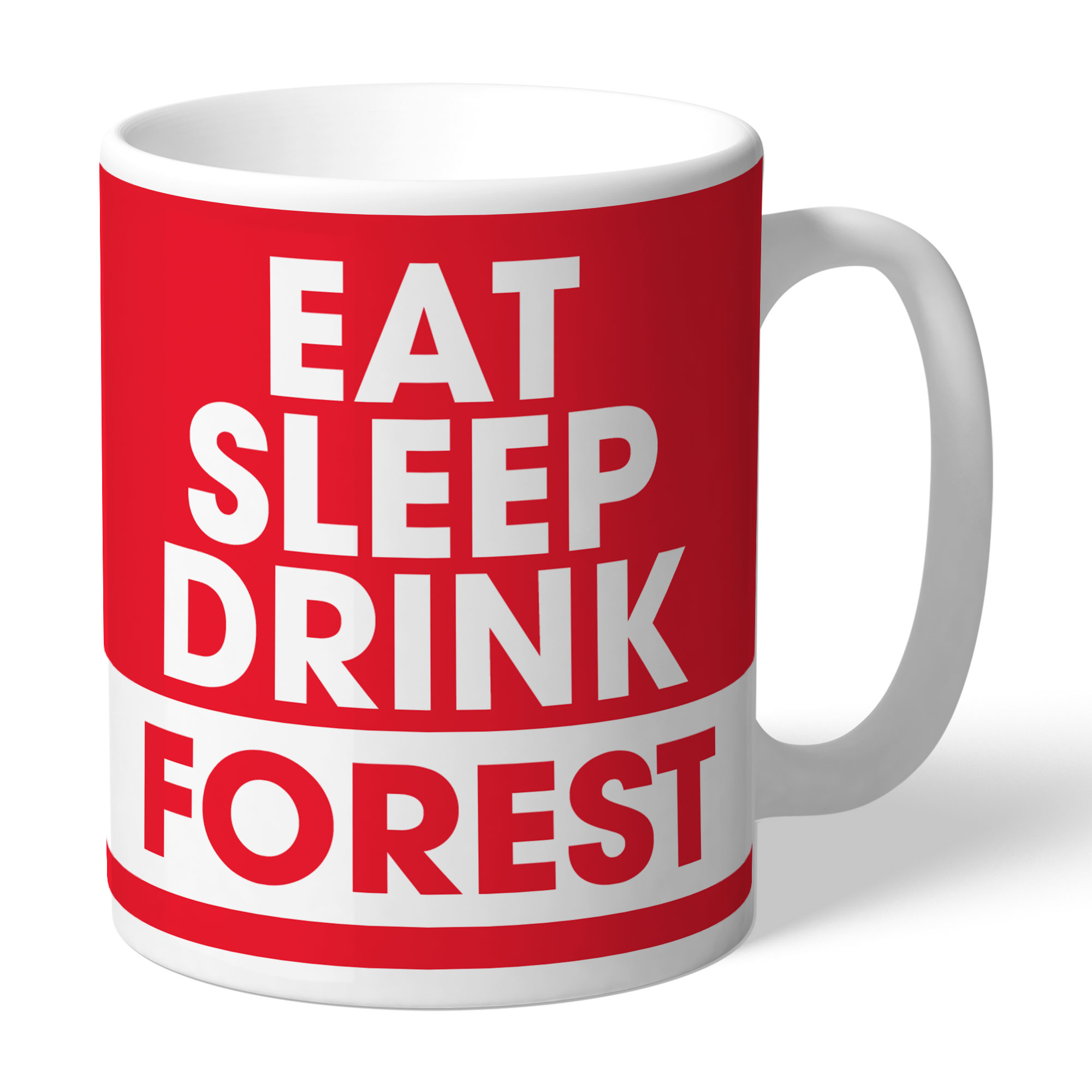 Nottingham Forest FC Eat Sleep Drink Mug