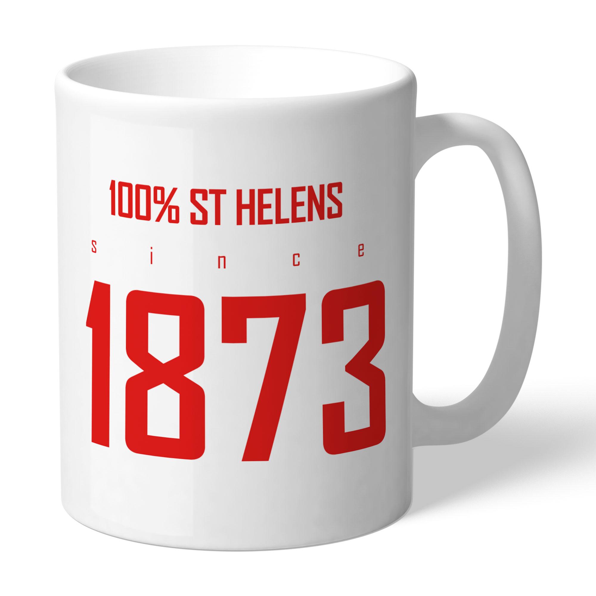 St Helens 100 Percent Mug