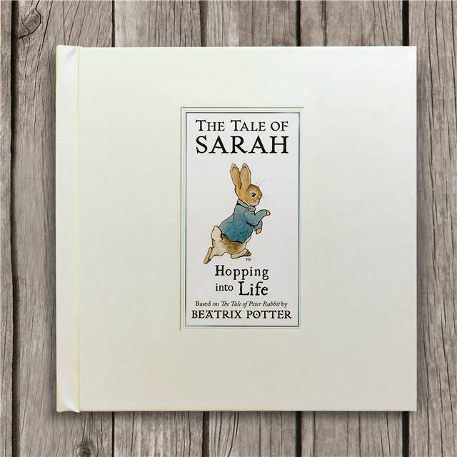 Personalised Peter Rabbit - Hopping into Life
