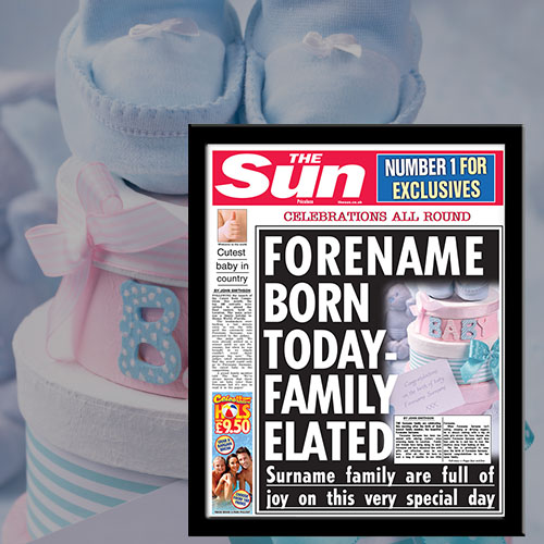 The Sun New Baby News