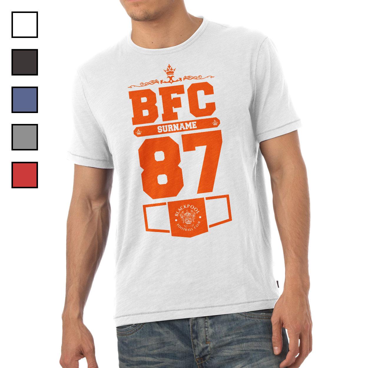 Blackpool FC Mens Club T-Shirt