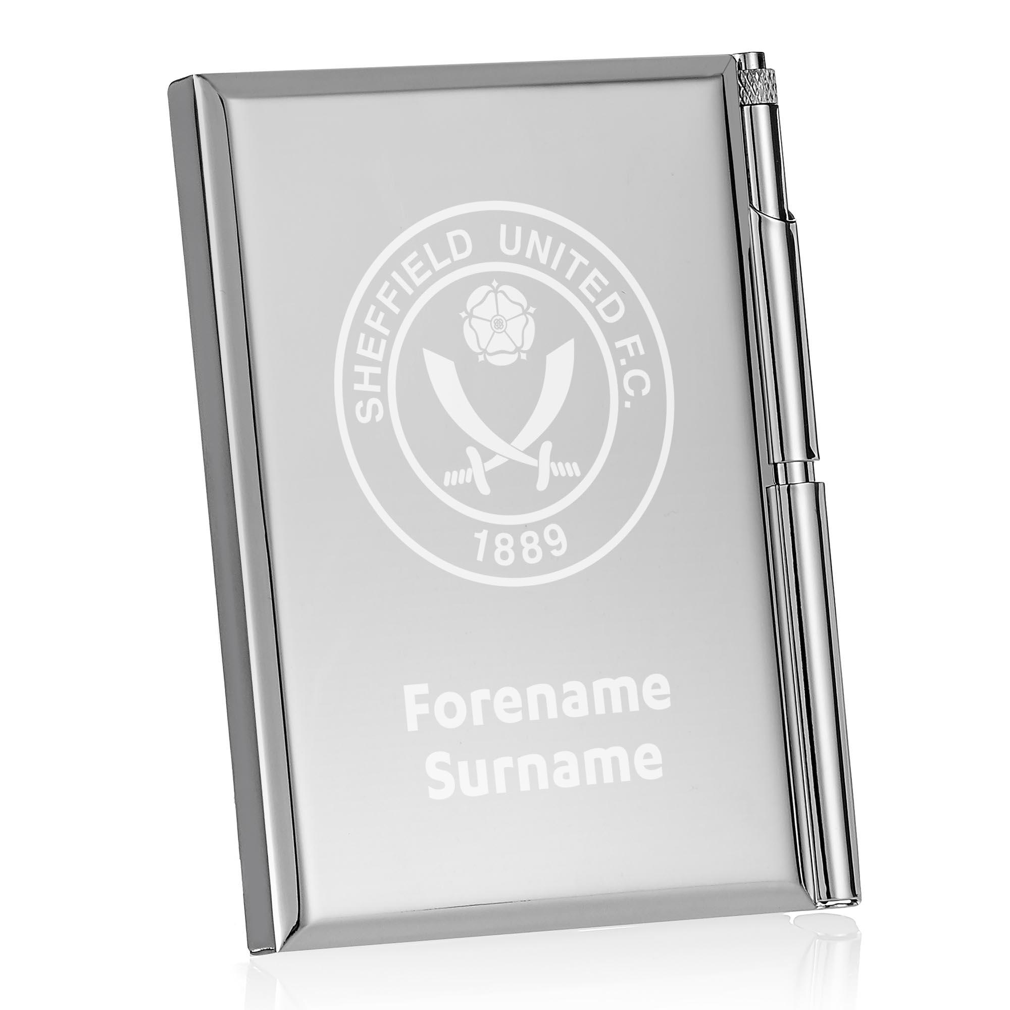 Sheffield United FC Crest Address Book
