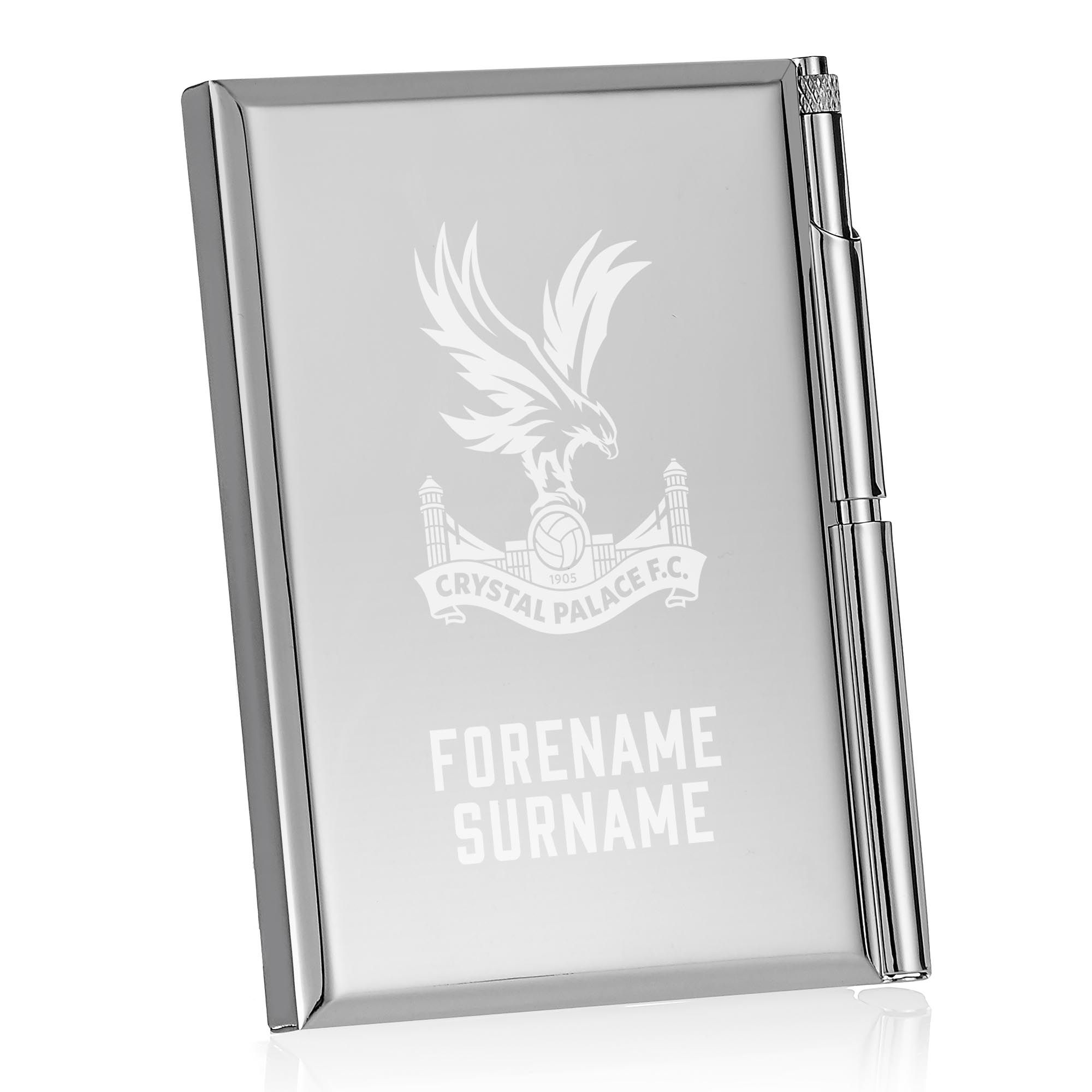 Crystal Palace FC Crest Address Book