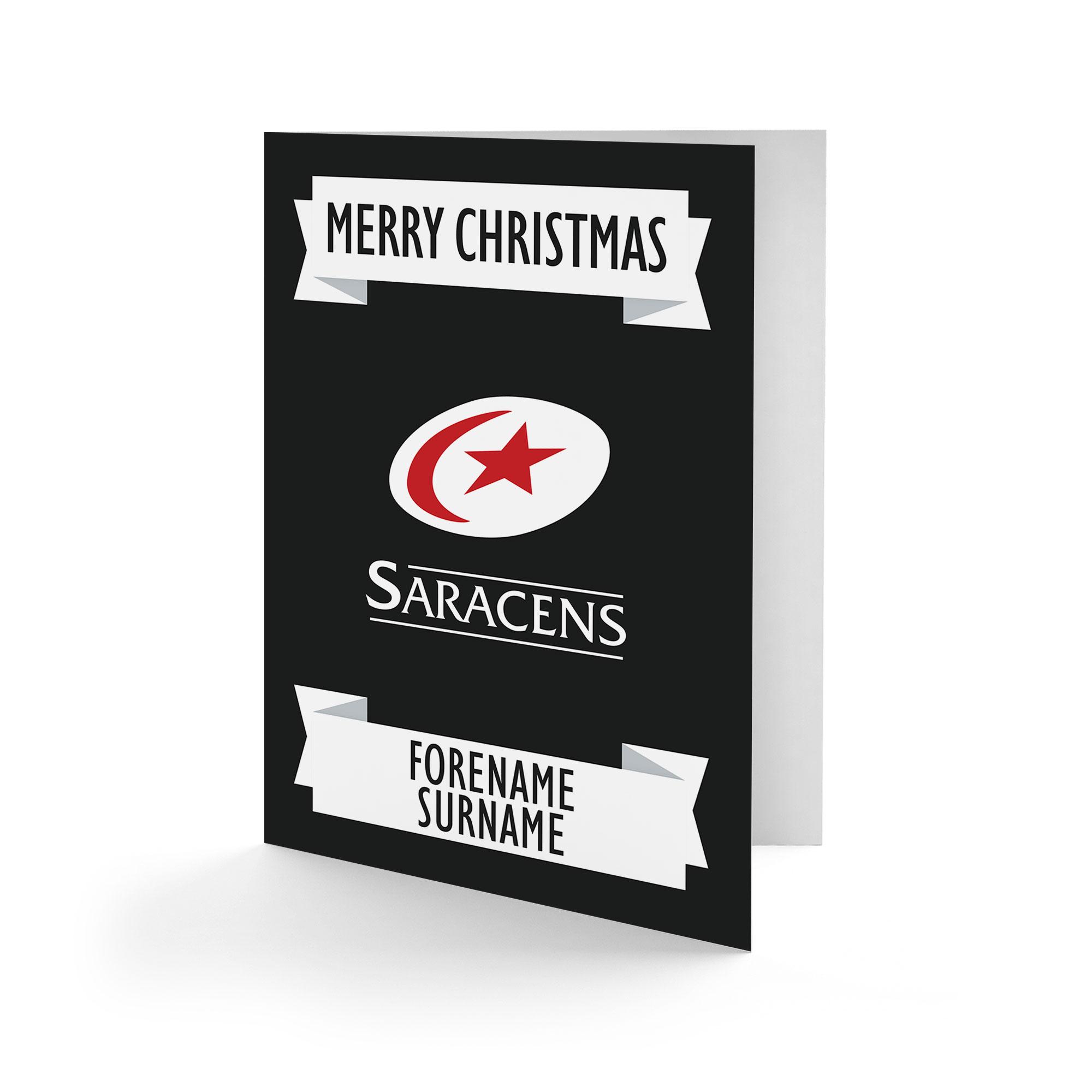 Saracens Crest Christmas Card