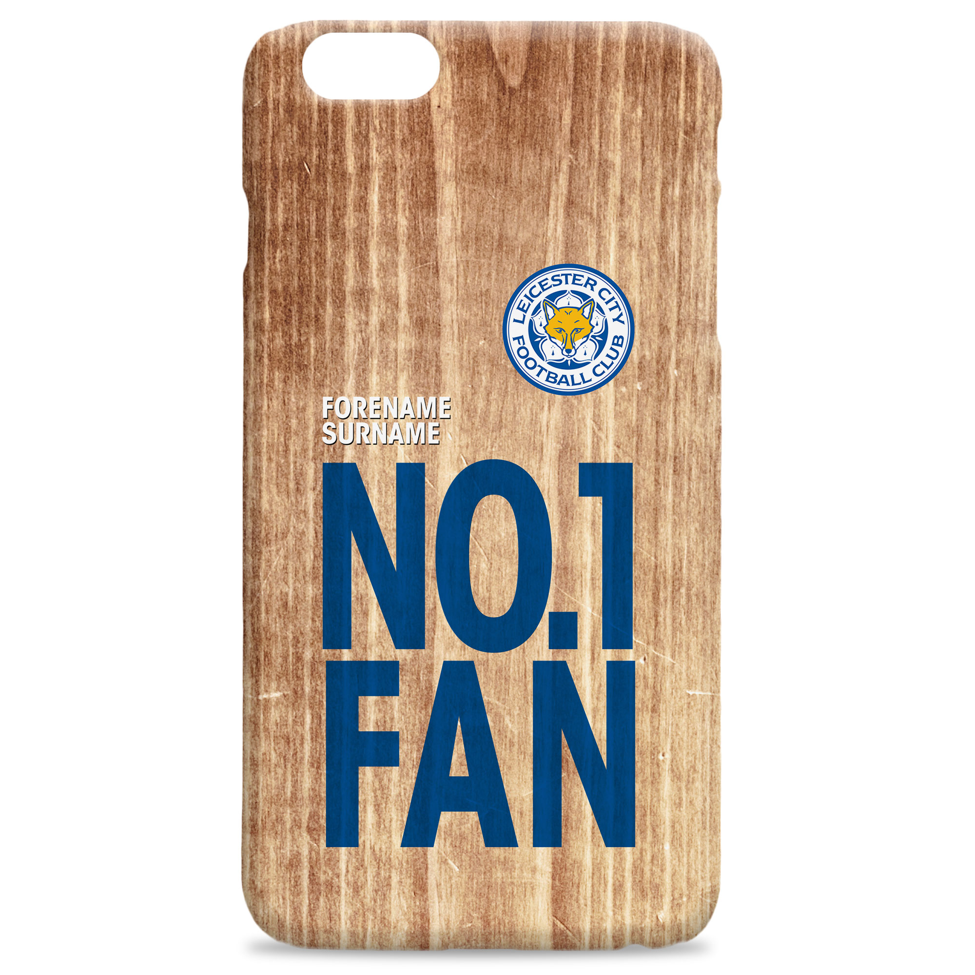 Leicester City FC No 1 Fan Hard Back Phone Case