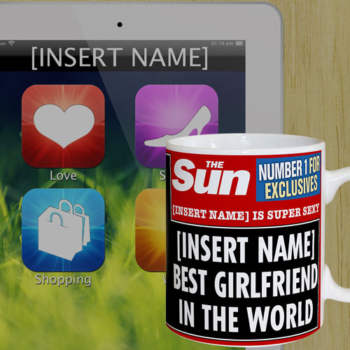 The Sun Best Girlfriend Mug