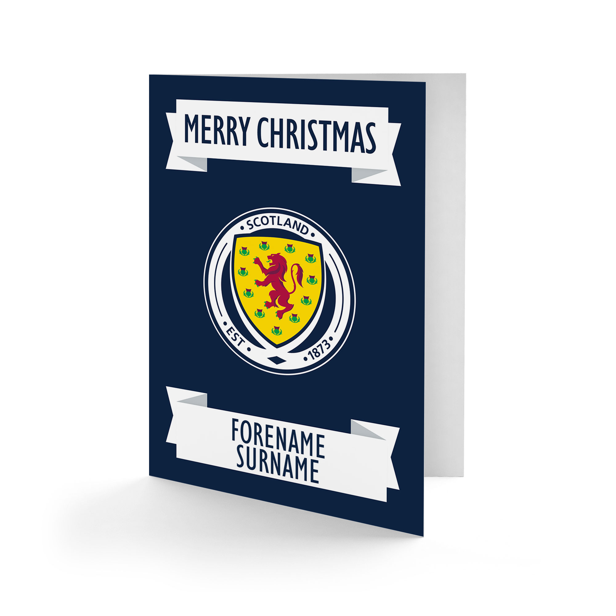 Scotland Crest Christmas Card