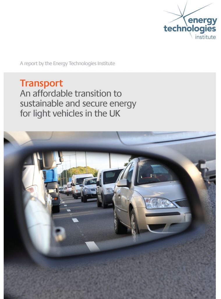 An affordable transition to sustainable and secure energy for light vehicles in the UK - Summary