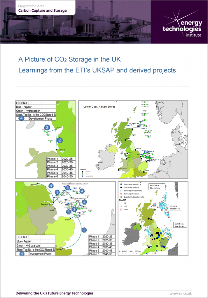 CCS - A picture of CO2 Storage in the UK