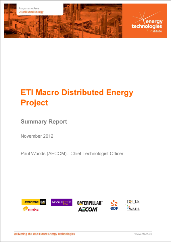 Macro Distributed Energy Project