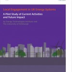 The University of Edinburgh have undertaken a pilot study for the ETI on the current activities and future impact of local engagement in UK energy systems