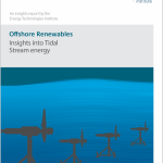 Tidal stream energy has the potential to compete on cost with other low carbon sources, but wave energy needs radical innovation - ETI report