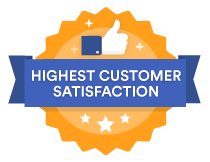 Highest customer satisfaction