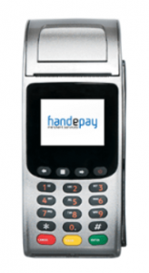 handepay countertop card machine