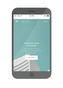 squarespace mobile screen