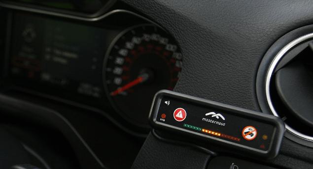 Masternaut in car display