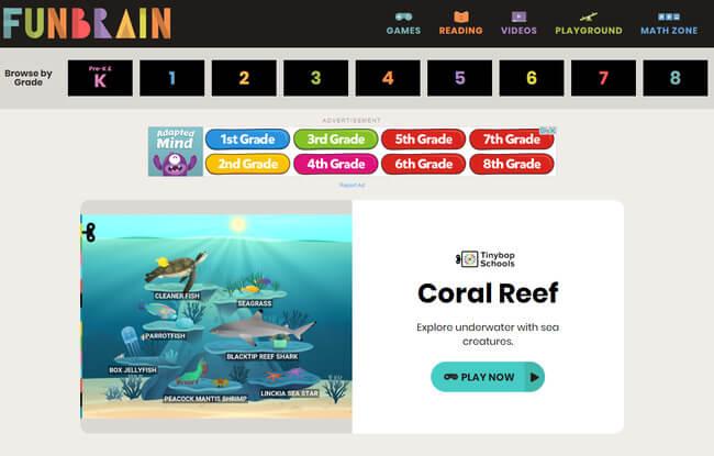 educational website example