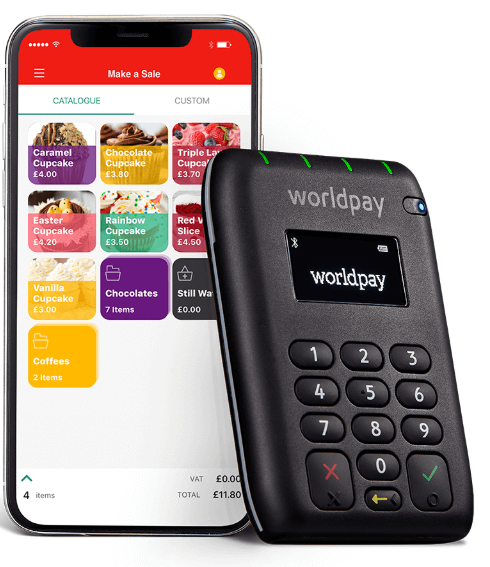 best mobile card reader worldpay