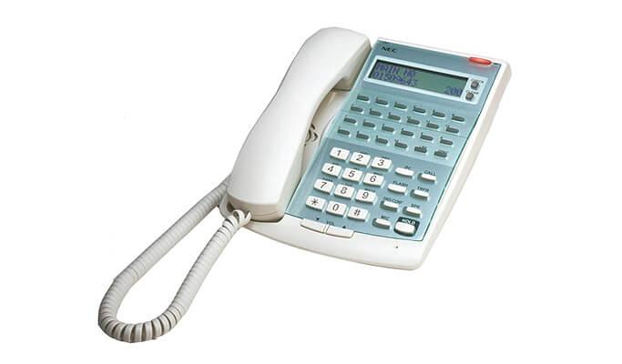 NEC hotel phone system