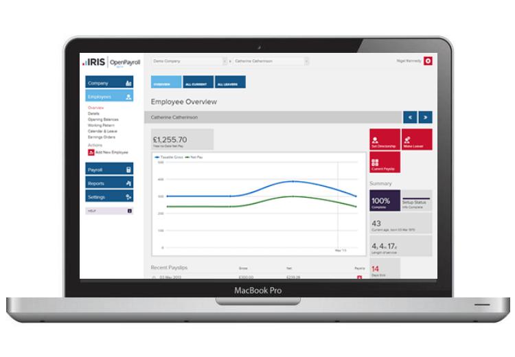 iris payroll software for mac