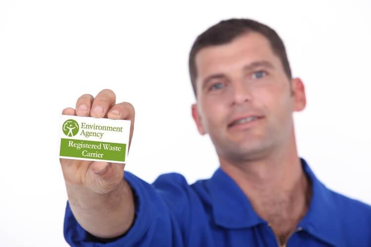 waste disposal license