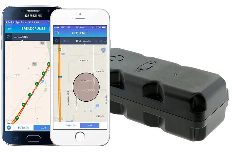 GPS asset tracking
