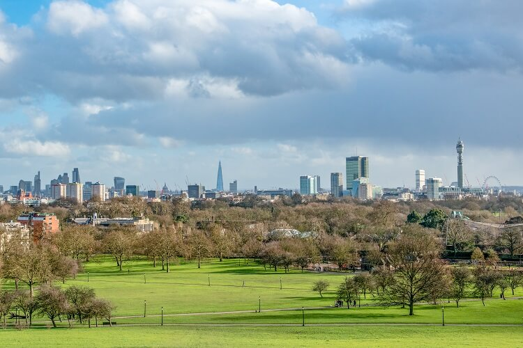 London green space