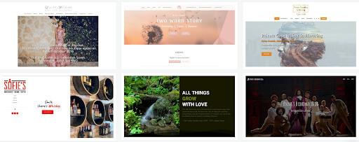 site123 website examples