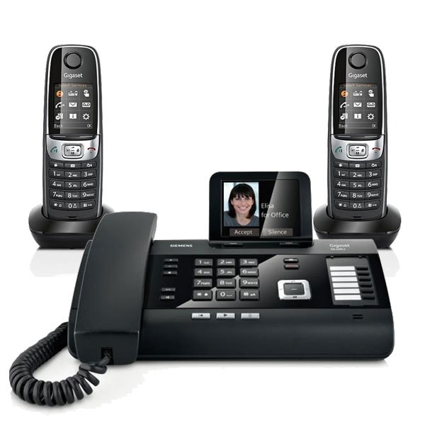 Mini standard téléphonique 2 lignes analogiques