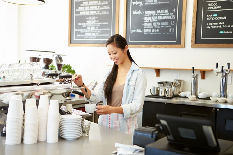 Buying a coffee machine