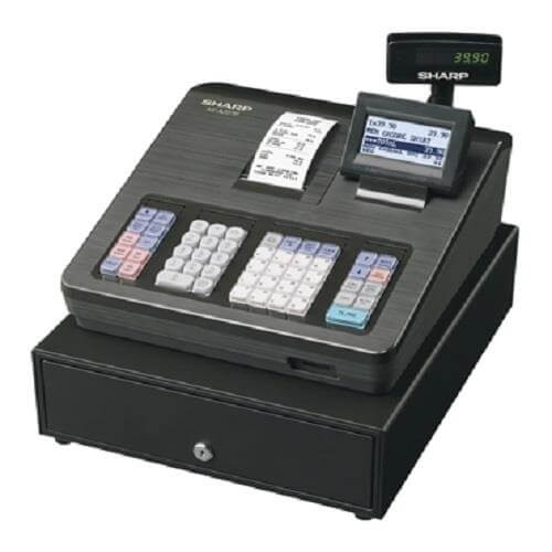 sharp xe a207 best pos for bars and cafes