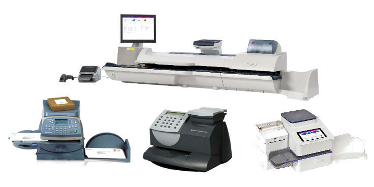 Pitney Bowes postage meters