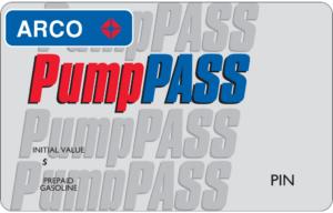 arco prepaid fuel card