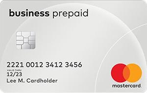 mastercard business prepaid