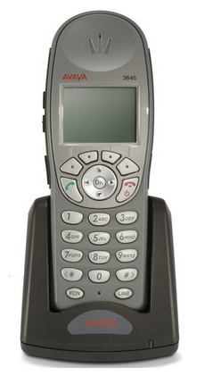 avaya wireless handset