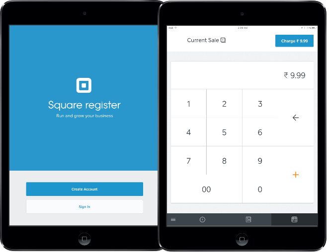 Square POS app