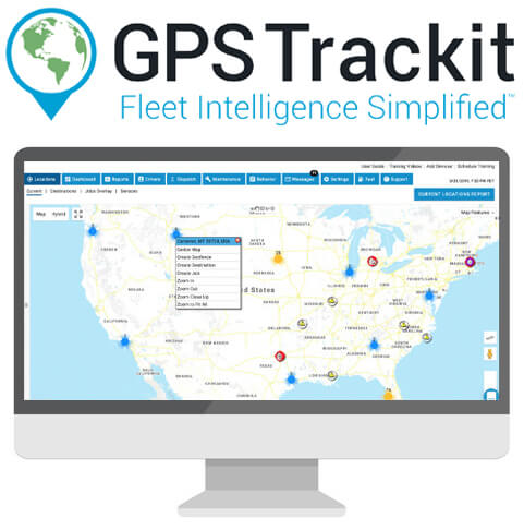 GPS Trackit fleet management review