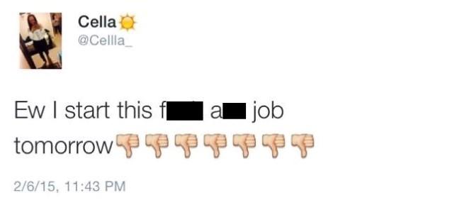 Texan teen's ill-fated tweet