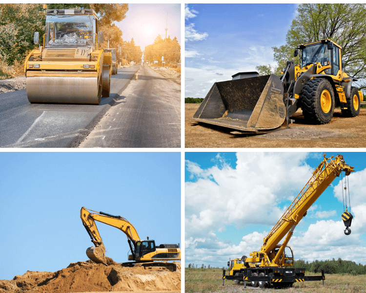 GPS tracking construction equipment