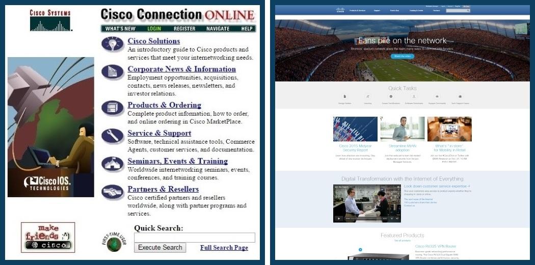 Cisco website