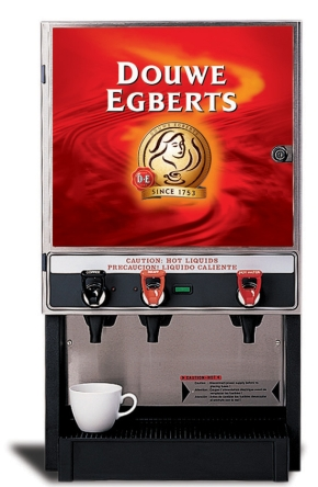 Coffee from a vending machine