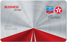 Chevron Texaco Business Access Card