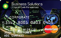 BP Business Solutions Universal Fuel card